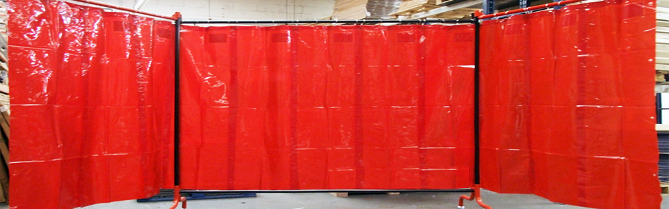 Weling Grade PVC Strip Curtains, Welding Screens, Sheets, Red, Green Color PVC Strip Curtains, Suppliers, Dealers, Traders, Importers, Manufacturers, Wholesellers, Chennai, India, Bangalore, Hydarabad, Kerala